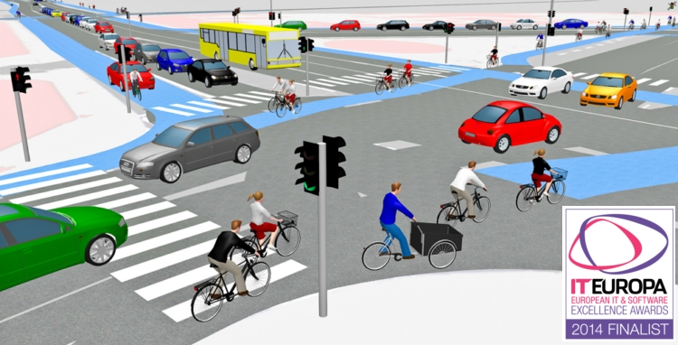 VISSIM_cykelsimulering